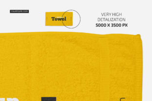 Towel Mockup Set Graphic Product Mockups By country4k 3