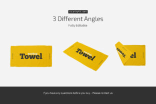 Towel Mockup Set Graphic Product Mockups By country4k 4
