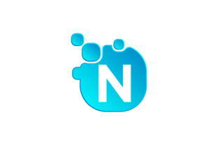 Print on Demand: Letter N Vector Logo Design Template Graphic Logos By vectoryzen