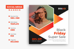 Black Friday Sale Instagram Post Design Graphic Web Templates By VectStock