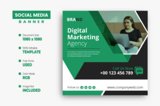 Business Social Media Post Design Graphic Web Templates By VectStock