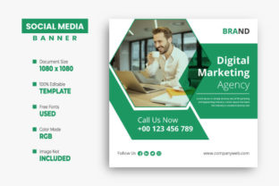 Corporate Social Media Instagram Post Graphic Web Elements By VectStock