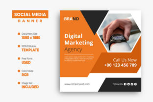 Digital Marketing Agency Instagram Post Graphic Web Templates By VectStock