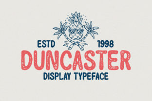 Print on Demand: Duncaster Display Font By letterhend