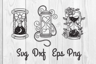 Print on Demand: Hourglass Svg, Cut File, Sublimation Graphic Print Templates By dadan_pm