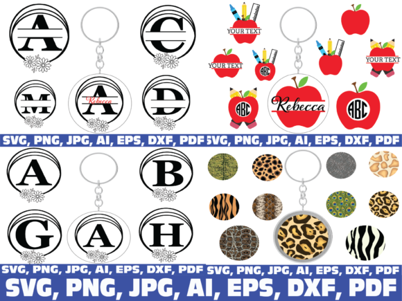 Keychain Bundle Graphic Preview