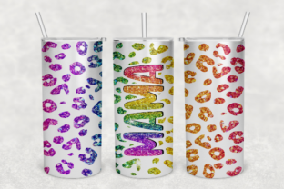 Mama Leopard Sublimation Tumbler Design Graphic Crafts By JSDesigns