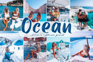 Ocean Lightroom Presets Graphic Actions & Presets By MintDesign