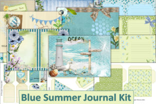 Print on Demand: Printable Spring Summer Journal Kit Graphic Crafts By The Paper Princess
