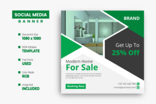 Real Estate Social Media Instagram Post Graphic Web Templates By VectStock