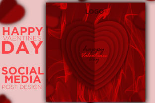Valentine's Day Poster Design Graphic Graphic Templates By mafizuri223