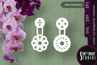 Buttons and Fasteners SVG Cut Files Graphic Crafts By Sun At Night Studios