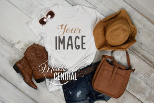 Country Western Rustic T-Shirt Mockup Graphic Product Mockups By Mockup Central