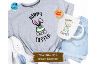 Happy Easter Svg for Cricut Graphic Print Templates By Tori Designs