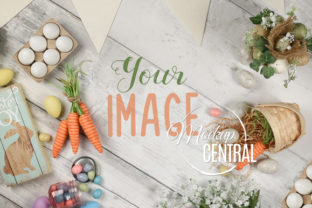 Holiday Easter Flat Lay Photo Mockup Graphic Holidays By Mockup Central