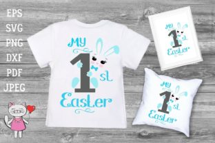 My First Easter Svg T-shirt Design Boy Graphic Illustrations By  Magic world of design
