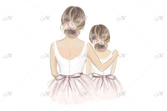 Will You Be My Flower Girl? Illustration Graphic Illustrations By MaddyZ