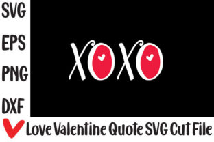 Print on Demand: XOXO Graphic Crafts By svg.in.design