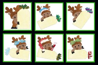ChristMoose Tag Series Gráfico Quilt Patterns Por seamstobesew