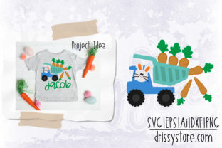Easter Dump Truck Graphic Crafts By DrissyStore