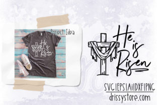 He is Risen Graphic Crafts By DrissyStore