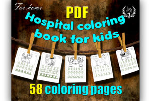 Hospital Coloring Book