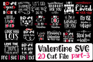 Print on Demand: Loving Valentine SVG Cut 20 File Graphic Crafts By svg.in.design