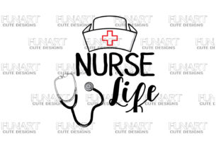 Nurse Life Graphic Print Templates By Fundesings