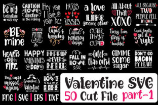 Print on Demand: Valentine Day SVG Bundle 50 Designs Graphic Crafts By svg.in.design