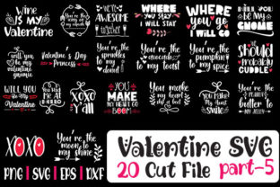 Print on Demand: Valentine SVG Cut 20 File Grafik Plotterdateien von svg.in.design