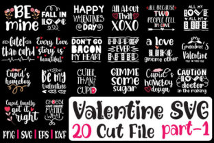 Print on Demand: Valentine SVG Cut File Graphic Crafts By svg.in.design