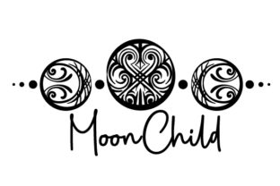 MoonChild Triple Moon Designs & Zeichnungen Plotterdatei von Creative Fabrica Crafts