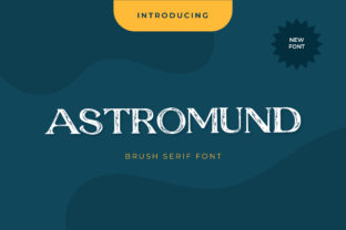 Print on Demand: Astromund Display Font By uicreativenet