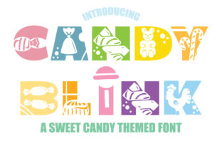 Print on Demand: Candy Blink Decorative Font By KtwoP