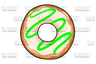 Donut Candy, Doughnuts, Png Sublimation Graphic Illustrations By Fundesings