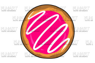 Donut Candy Graphic Illustrations By Fundesings