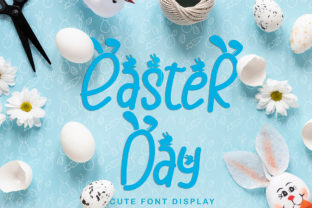 Print on Demand: Easter Day Display Font By yogaletter6