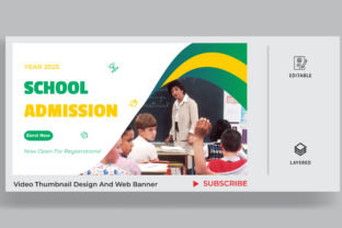 Education Video Thumbnail and Banner Graphic Websites By sohagmiah_0