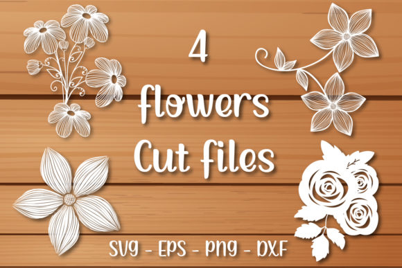 Flower Bundle Svg | Flower Cut File Graphic Crafts By zhyecarther