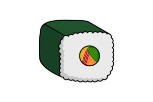 Food Icon Futomaki Graphic Icons By yellowhellow