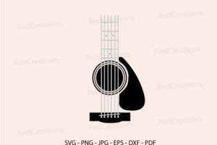 Guitar Tumble Svg, Guitar Clipart Graphic Crafts By RedCreations
