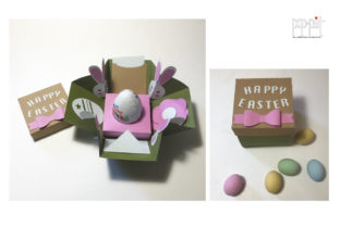 Happy Easter 1 Graphic 3D SVG By patrizia.moscone