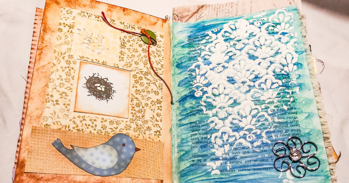 How to Alter a Book into a Junk Journal