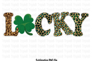 Print on Demand: Lucky St Patrick's Day Sublimation Graphic Illustrations By TripleBcraft