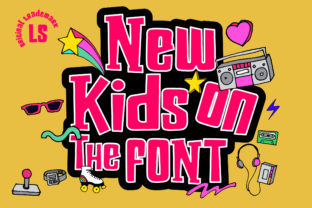 Print on Demand: New Kids on the Font Display Font By Gumacreative