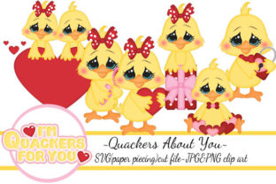 Quackers About You Graphic Illustrations By Marjorie Ann Designs