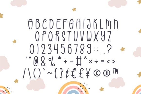 Rainbow Font Preview