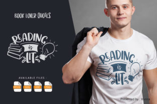 Print on Demand: Reading is Lit Graphic Crafts By Vunira