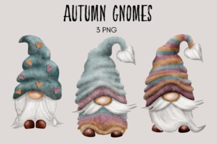 Print on Demand: Autumn Gnomes Graphic Illustrations By Celebrately Graphics