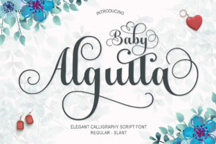 Print on Demand: Baby Algutta Script & Handwritten Font By IM Studio